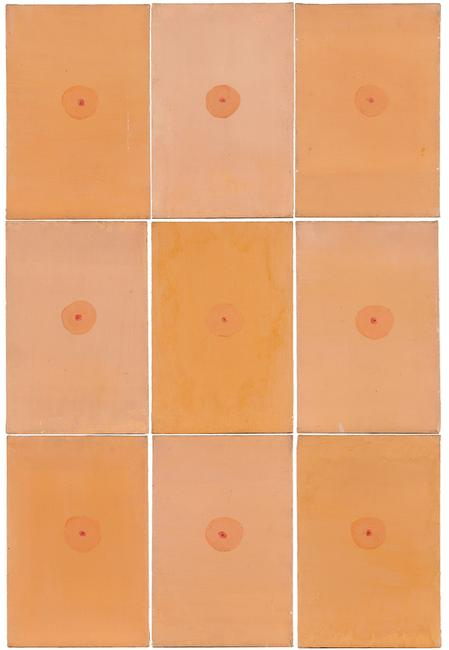 "Lot 2179: Jim Dine, ""9 Little Flesh Paintings"", 1959-1960"