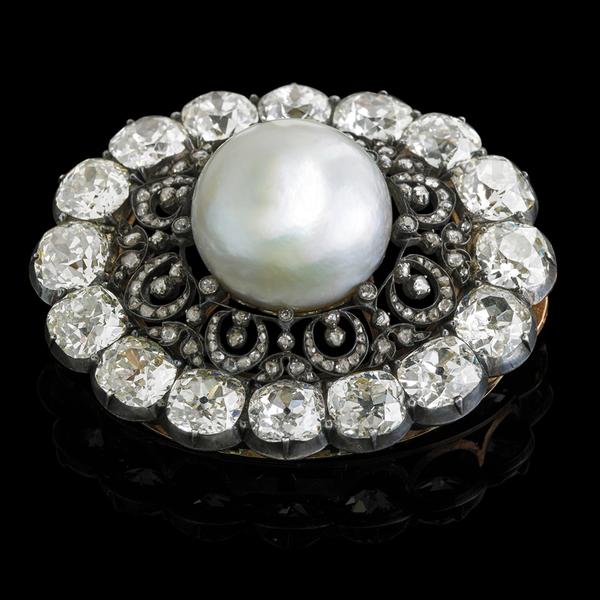 Lot 2557, Largest Known Near-Round Natural White Saltwater Pearl, Estimate $100,000+