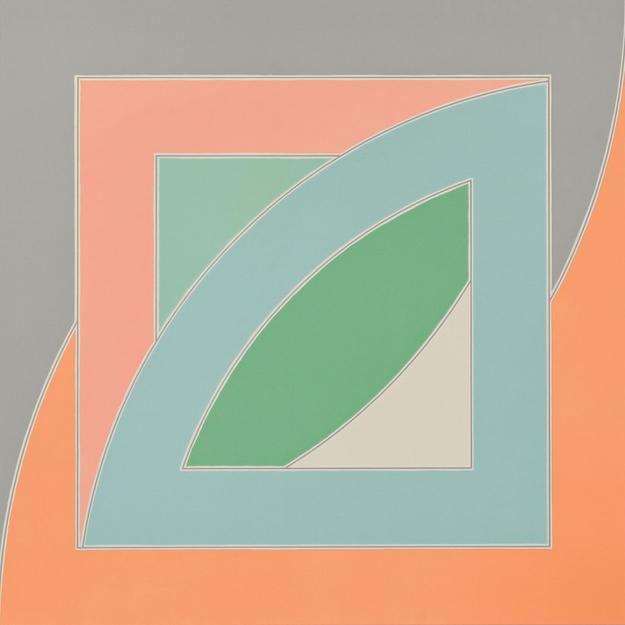 Frank Stella (American, b.  1936) River of Ponds, IV, from the series Newfoundland, 1971, proof outside the edition of 70 (Lot 86, Estimate $3,000-$5,000)