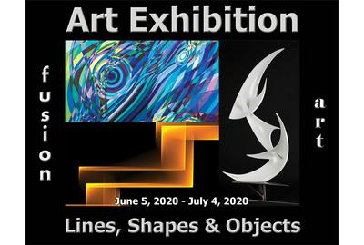 2nd Annual Lines, Shapes & Objects Art Exhibition www.fusionartps.com