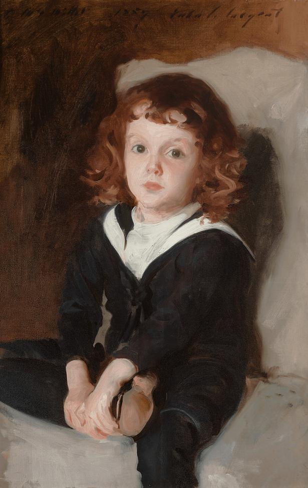 Portrait of Laurence Millet by John Singer Sargent