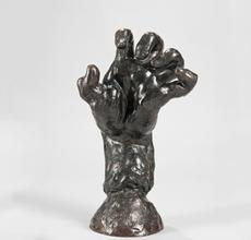 Auguste Rodin (French, 1840-1917) Grande Main Crispée Gauche (Large Clenched Left Hand) (Lot 301, Estimate: $120,000-180,000)