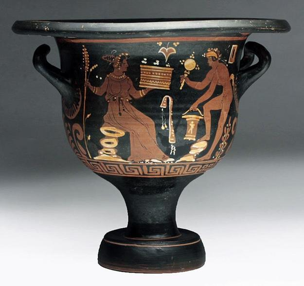 Published Greek Apulian Bell Krater, ex-Bonham's
