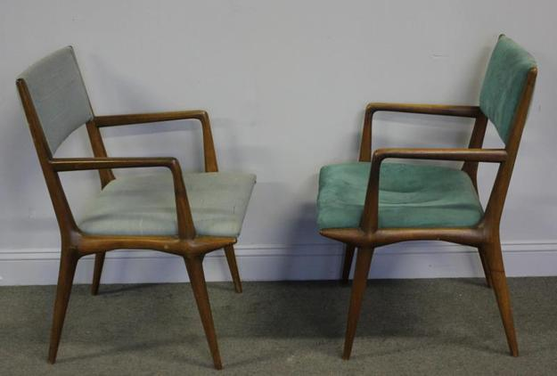 Carlo di Carli pull up chairs for Singer & Sons.