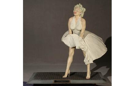 Forever Marilyn, by American artist, Seward Johnson (b.  1930)