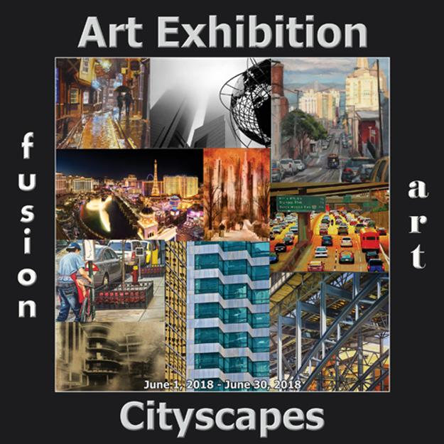 Fusion Art's 3rd Annual Cityscapes Art Exhibition is Now Open