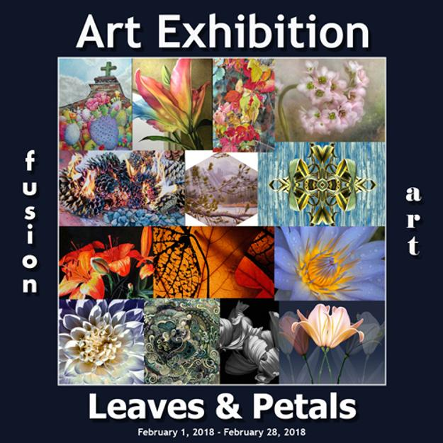 "3rd Annual ""Leaves & Petals"" Art Exhibition Winners Announced by Fusion Art www.fusionartps.com"