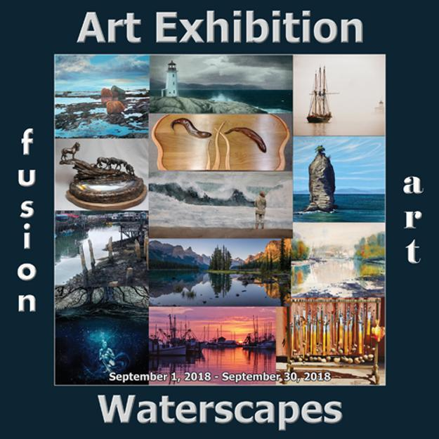 3rd Annual Waterscapes Art Exhibition Winners Announced by Fusion Art www.fusionartps.com