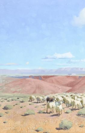 Gerard Curtis Delano, Navajo Sheep 3, to be sold November 11-12 in Denver.