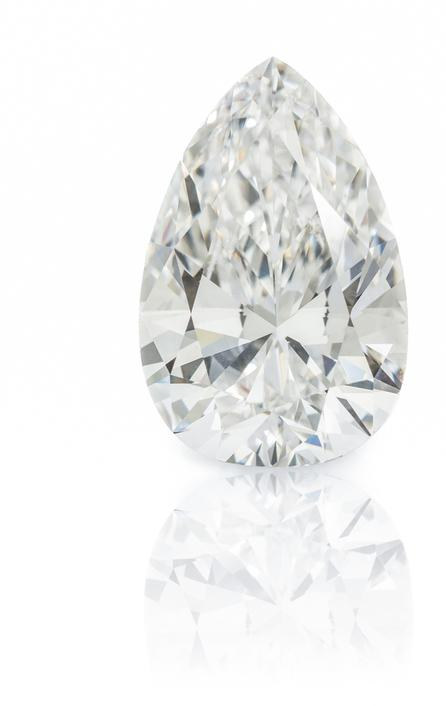 A Platinum and Diamond Ring, Harry Winston, to be sold September 16 at Leslie Hindman Auctioneers