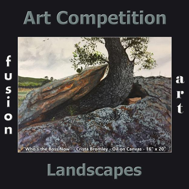 Fusion Art's 4th Annual Landscapes Art Competition is Now Accepting Entries www.fusionartps.com
