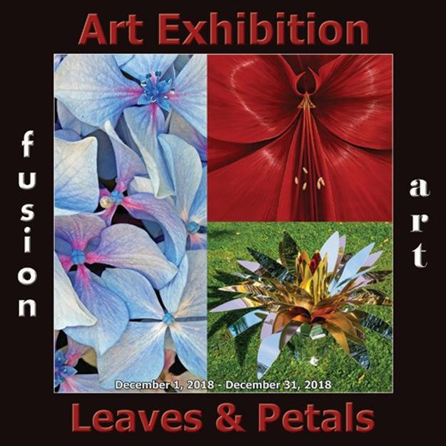4th Annual Leaves & Petals Art Exhibition Winners Announced by Fusion Art www.fusionartps.com