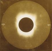 Unknown, Eclipse, n.d.  Toned albumen print.  SBMA, Museum purchase with funds provided by FOPA