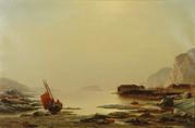 William Bradford, Low Tide, Labrador, oil
