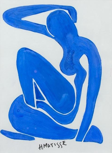 Lot 74: HENRI MATISSE French 1869-1954 Gouache/Paper