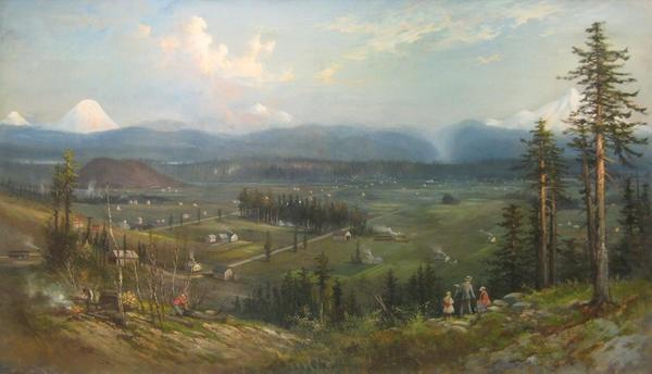 View of Portland, Oregon - C.  C.  Eisele