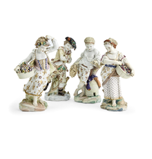 A Selection of Bristol Porcelain from The Sarah Belk Gambrell Collection.