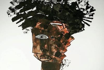 AFRICAN DUDE - 2020 - MIXED MEDIA