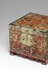 A Reverse-Painted Oxhorn-Applied Accessory Box (Hwagak haem) Joseon dynasty (19th century) Estimate: $60,000-70,000