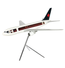 Space Models UK scale cutaway model of an Air Canada Boeing 767 plane, made in England in the 1980s (at an original cost to Air Canada of $32,500), 65 inches long (est.  CA$4,000-$6,000).