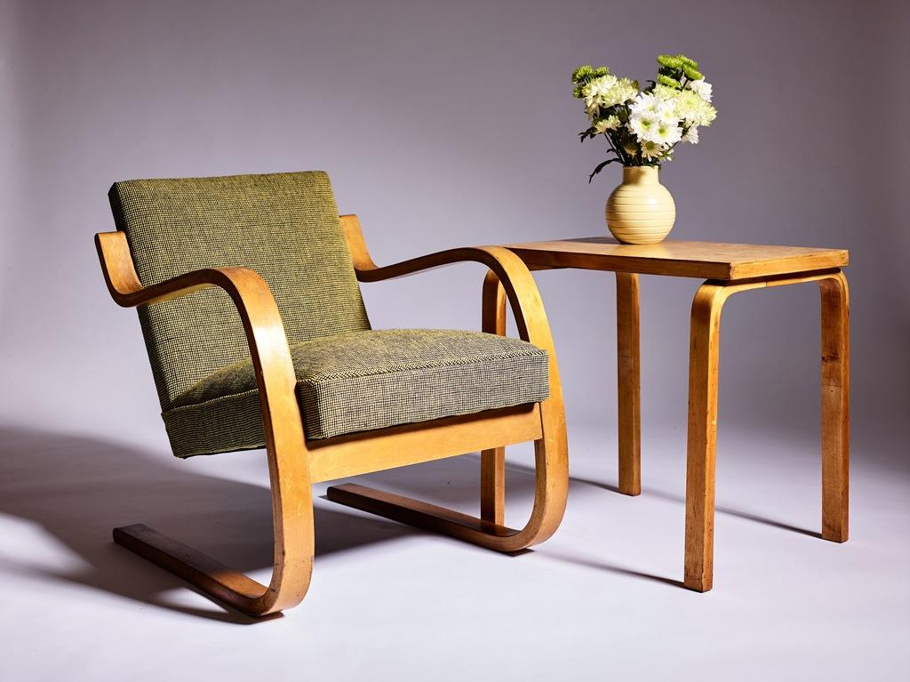 Alvar Aalto chair, from Form Function, Brighton, UK