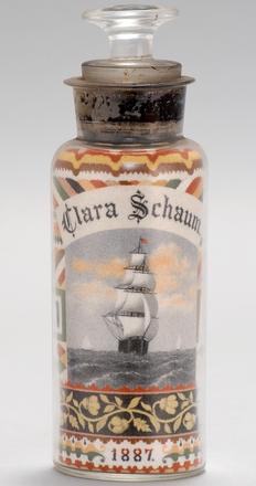 Sand Art Bottle by Andrew Clemens