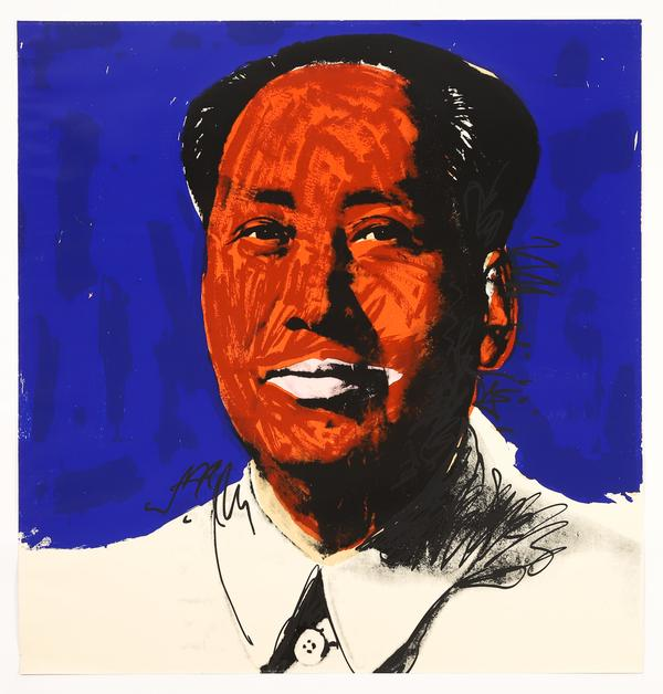 Andy Warhol (Am., 1928-1987), Mao, 1972, Screen-print on Beckett High White Paper, Ed.  25/250