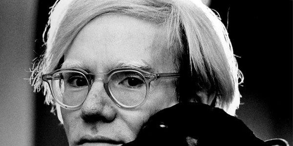Andy Warhol by Jack Mitchell.