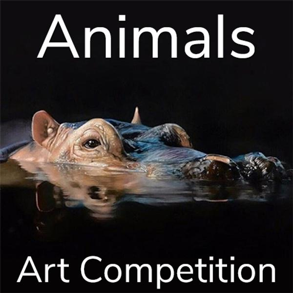 "10th Annual ""Animals"" Online Art Competition www.lightspacetime.art"