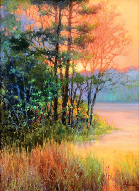 """Golden Sundown"" by Anne Bridge"