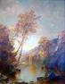 Jasper F.  Cropsey painting that sold for $180,000 at Mid-Hudson Auction Galleries.