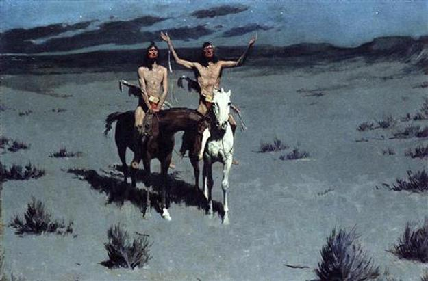 Frederic Remington, Pretty Mother of the Night—White Otter is No Longer a Boy.
