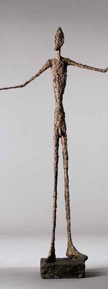 Pointing Man' by Alberto Giacometti