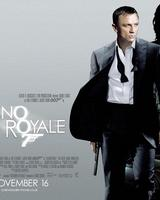 The poster for the 2006 film version of Casino Royale, starring Daniel Craig.