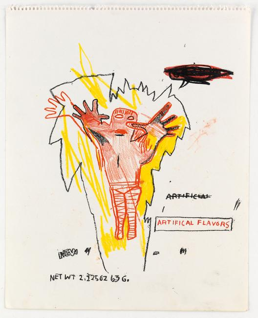 Jean-Michel Basquiat's Untitled (Artifical (sic) Flavors).