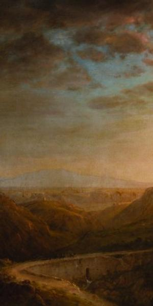DETAIL: Frederic Edwin Church, Syria by the Sea, 1873, oil on canvas.  Detroit Institute of Arts.