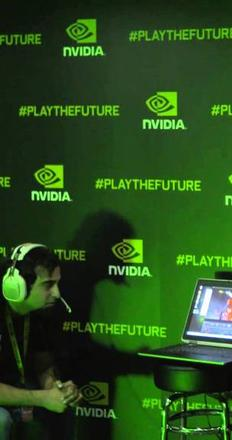 Screenshot of NVIDIA powers Tilt Brush Art Contest on HTC Vive at PAX 2015 via YouTube