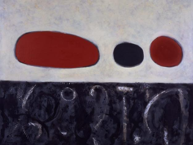 "Adolph Gottlieb, Sea and Tide, 1952, oil on canvas, 60 x 72"", ©Adolph and Esther Gottlieb Foundation/Licensed by VAGA, New York, NY"