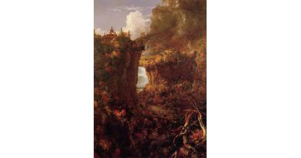 "Thomas Cole's ""Portage Falls on the Genesee"""