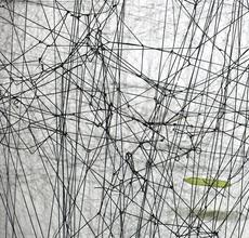 "Kathryn Hart, Detail of site-specific installation 70""x96""x36"", 142x244x91 cm"