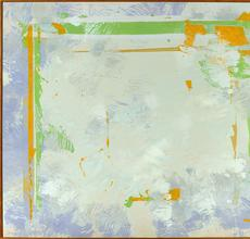 Walter Darby Bannard, The Plains #2, 1970, Alkyd resin on canvas, 78 x 92 inches.