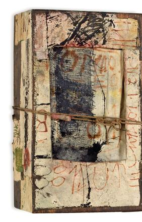 HANNELORE BARON UNTITLED, 1982-83 Box Assemblage 8 1/2 x 5 x 3 1/8 inches JRFA #1962