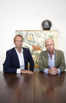 Barnebys.com was co-founded in 2011 by Pontus Silfverstolpe (left) and Christopher Barnekow, both Swedish businessmen and entrepreneurs.