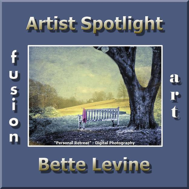 Bette Levine Wins Fusion Art's Artist Spotlight Solo Art Exhibition www.fusionartps.com