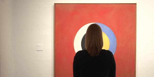 """From the film """"Beyond the Visible, Hilma af Klint."""" Painting by Hilma af Klint © Stiftelsen Hilma af Klints Verk"""