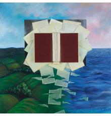 """Ruth Lozner and Kenzie Raulin Chapters 1-10, acrylic on canvas, 36"""" x 36"""""""