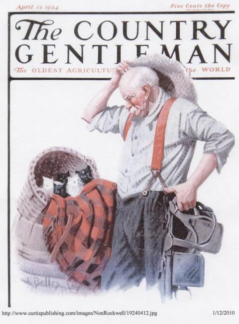 Magazine Cover: The Country Gentleman, April 12, 1924