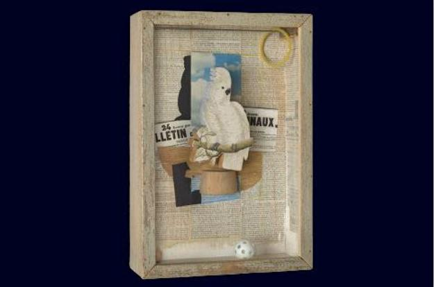 Joseph Cornell (American, 1903-1972).  Homage to Juan Gris, 1953-54.  Box construction.  Philadelphia Museum of Art, Purchased: John D.  McIlhenny Fund.  Art © The Joseph and Robert Cornell Memorial Foundation/Licensed by VAGA, New York, NY