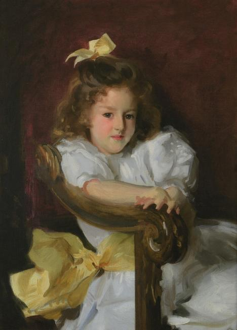 "John Singer Sargent, American, 1856–1925; ""Portrait of Charlotte Cram"", 1900; oil on canvas; 34 3/4 × 24 inches; Saint Louis Art Museum, Friends Fund Endowment, Museum Purchase, and funds given by Mr.  and Mrs.  John Peters MacCarthy; Eliza McMillan Trust, Bequest of Elsie A.  Kuhn, Gift of Edward J.  Costigan in memory of his wife, Sara Guth Costigan, Gift of Mr.  and Mrs.  John Alden Sears, Gift of J.  Harold Pettus, Gift of Charles F.  Galt, Gift of William Henry Gruen, and Gift of Peggy Ives"