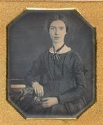 The only authenticated image of Emily Dickinson, Daguerreotype, ca.  1847.  The Emily Dickinson Collection, Amherst College Archives & Special Collections.  Gift of Millicent Todd Bingham, 1956, 1956.002.